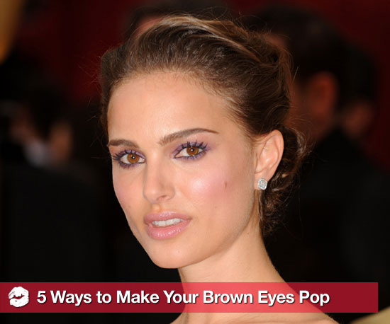 5 Ways to Make Your Beautiful Brown Eyes Pop