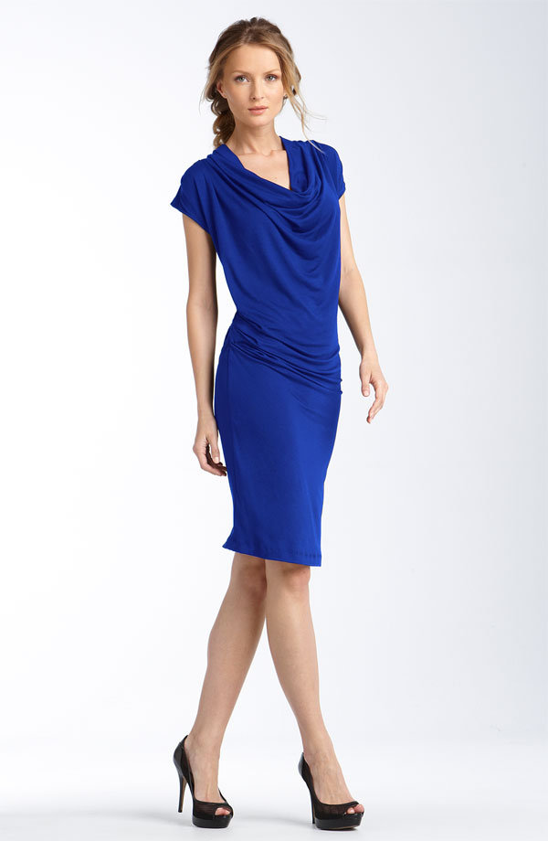 MICHAEL Michael Kors Drape Neck Dress ($90)