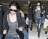 Pictures of Kristen Stewart Leaving Australia After Eclipse Promotion Flashing Her Belly