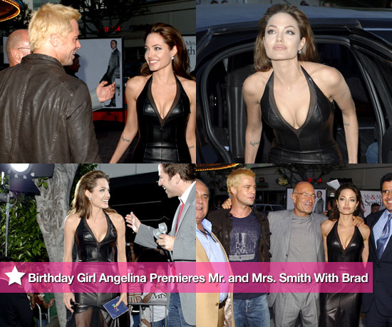 pictures of birthday girl angelina jolie at the 2005