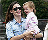 Slide Picture of Jennifer Garner and Seraphina Affleck in Santa Monica