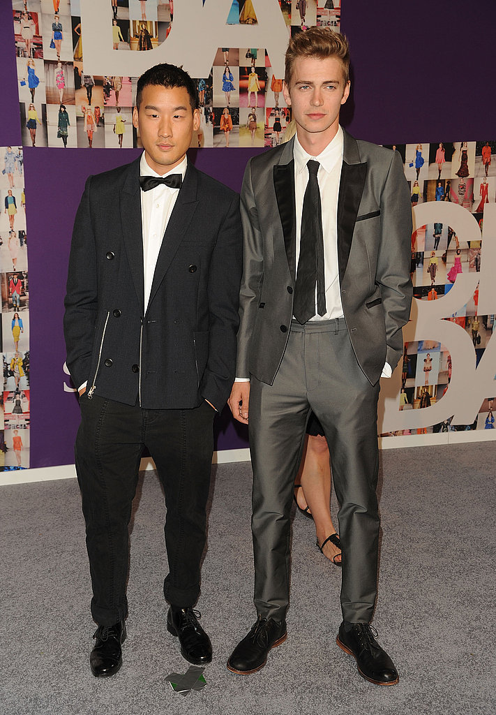 Richard Chai with Hayden Christensen in his design