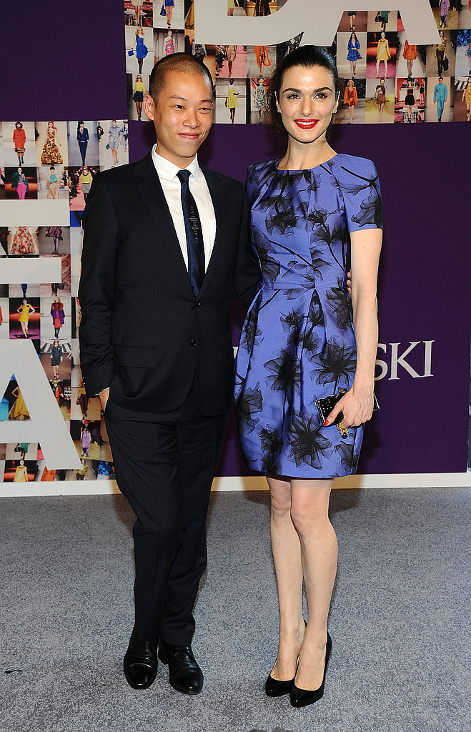 Jason Wu and Rachel Weisz in his design