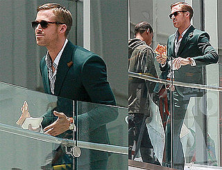 Pictures of Ryan Gosling and Steve Carell on the Set of Their Untitled Marital Crisis Comedy