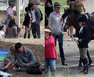 Pictures of Reese Witherspoon With Ryan Phillippe at Their Daughter Ava's Equestrian Competition