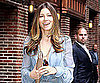 Slide Picture of Jessica Biel Arriving at The Late Show