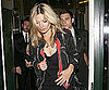 Slide Picture of Kate Moss Leaving The Ivy in London