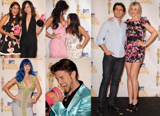Photos From The MTV Movie Awards Press Room