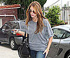Slide Picture of Ashley Greene Wearing Gray in LA