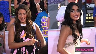 Video: Nikki Reed & Vanessa Hudgens Cheer For Christina Aguilera