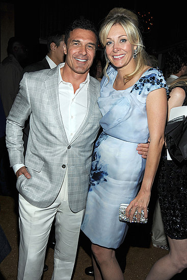 Andre Balazs, Nadja Swarovski Photo courtesy the CFDA