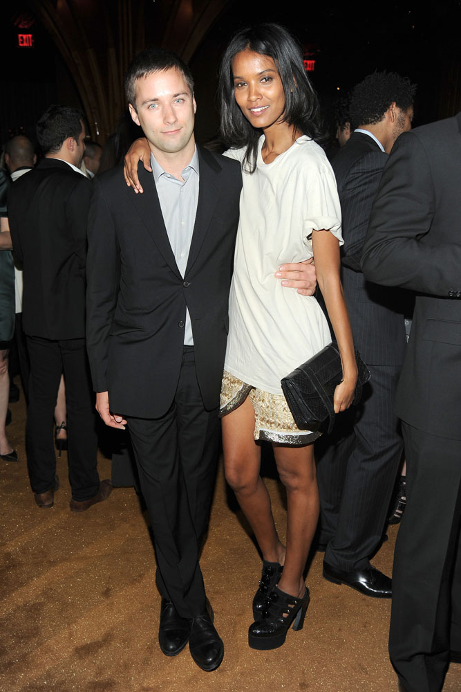 Jack McCollough, Liya Kibede Photo courtesy the CFDA