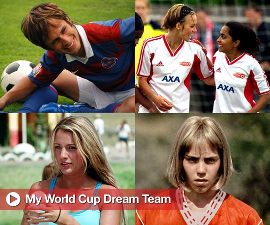 List of Movies About Soccer or Movie Characters Who Are Soccer Players 2010-06-12 00:01:00