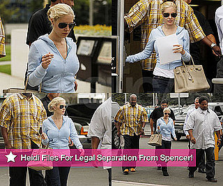 Pictures of Heidi Montag Filing For Legal Separation From Spencer Pratt