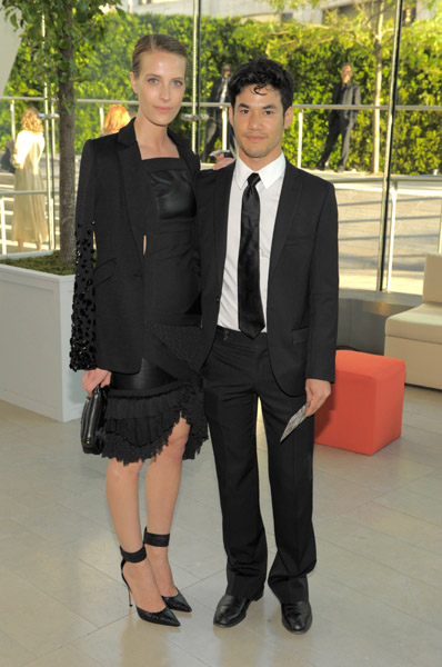 Vanessa Traina and nominee Joseph Altuzarra — very sharp.