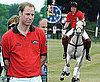 Pictures of Prince William Playing Polo and Kate Middleton's Family Selling Official England Merchandise For World Cup