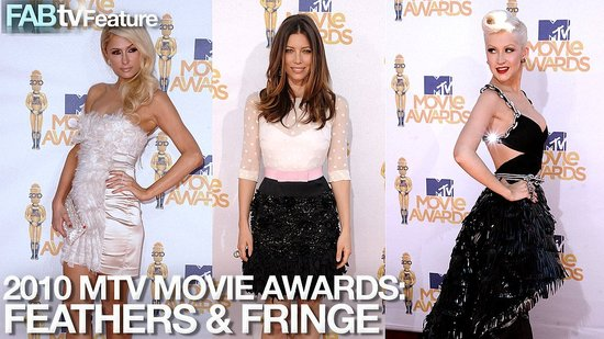 Feathered & Fabulous Celebs at the 2010 MTV Movie Awards!