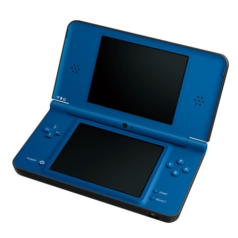 New Nintendo DSi XL in Midnight Blue