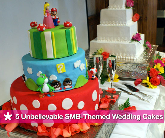 5 Unbelievable Super Mario-Themed Wedding Cakes