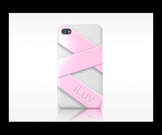 Photos of the iLuv iPhone 4 Cases