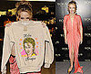 Pictures of Kylie Minogue at Tous Party in London With Mathew Horne and a Jumper With Her Face On It