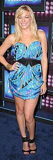 LeAnn Rimes in Mara Hoffman Dress and Jimmy Choo Shoes at CMT Music Awards
