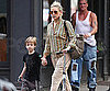 Slide Picture of Kate Hudson and Ryder Robinson With Scooter in New York