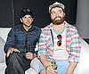 Slide Picture of Zach Galifianakis and Bradley Cooper at a Party in LA