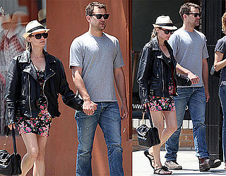 Pictures of Joshua Jackson and Diane Kruger Walking Around Venice Beach