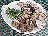 Grilled Pork Tenderloin With Rosemary Coating and Red Pepper Sauce Recipe