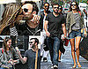 Pictures of Alessandra Ambrosio and Jamie Mazur Kissing and Eating Ice Cream in NYC