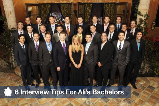 6 Interview Tips For Ali's Bachelors