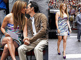 Pictures of Jennifer Lopez and Marc Anthony at a Boys and Girls Club Event in NYC, She Praises Tom Cruise as Les Grossman