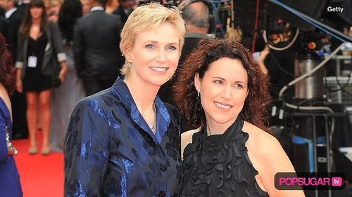 Video of Jane Lynch Interview About her Wedding Day