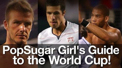 2010 World Cup Hot Soccer Players