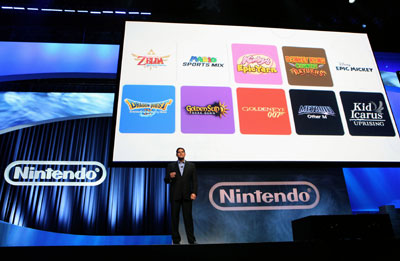 Nintendo 3DS Games Announced at E3