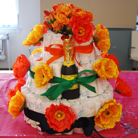Cook Up a Diaper Cake
