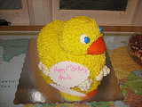 Rubber Ducky Makes Cake Time Fun Too