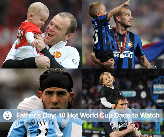 Father's Day: 10 Hot World Cup Dads to Watch