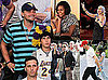 Pictures of Leonardo DiCaprio, Michelle Obama, And More at The Lakers vs. Celtics Game