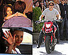 Pictures of Tom Cruise and Cameron Diaz Doing Stunts in Seville, Suri Cruise and Katie Holmes Watching