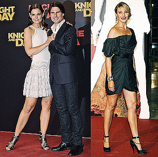 Pictures of Tom Cruise, Katie Holmes, Cameron Diaz at Knight and Day Premiere in Seville, Spain 2010-06-16 16:30:00