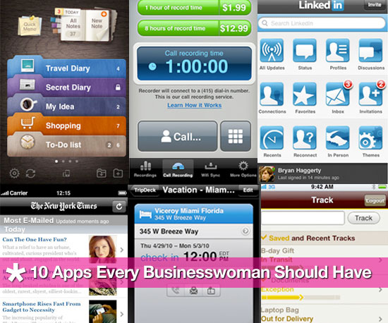 Best iPhone Apps For Work and Productivity