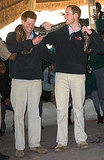 Pictures of Prince William and Prince Harry in Africa