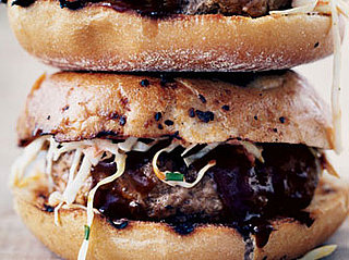 Recipe For Barbecued Pork Burgers With Slaw