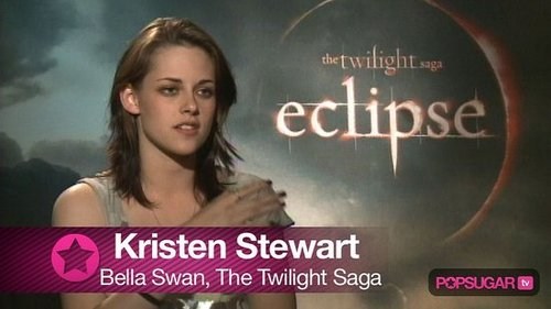 Video of Kristen Stewart Interview For Eclipse
