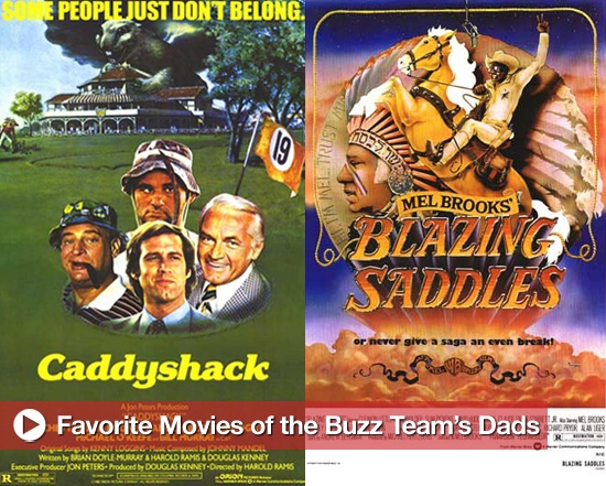 Happy Father's Day: The Buzz Team Reveals Their Dads' Favorite Movies!