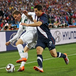 2010 World Cup US Versus Slovenia