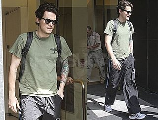 Pictures of John Mayer Walking Around NYC