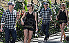 Pictures of Ryan Seacrest and Julianne Hough Shopping Together in LA